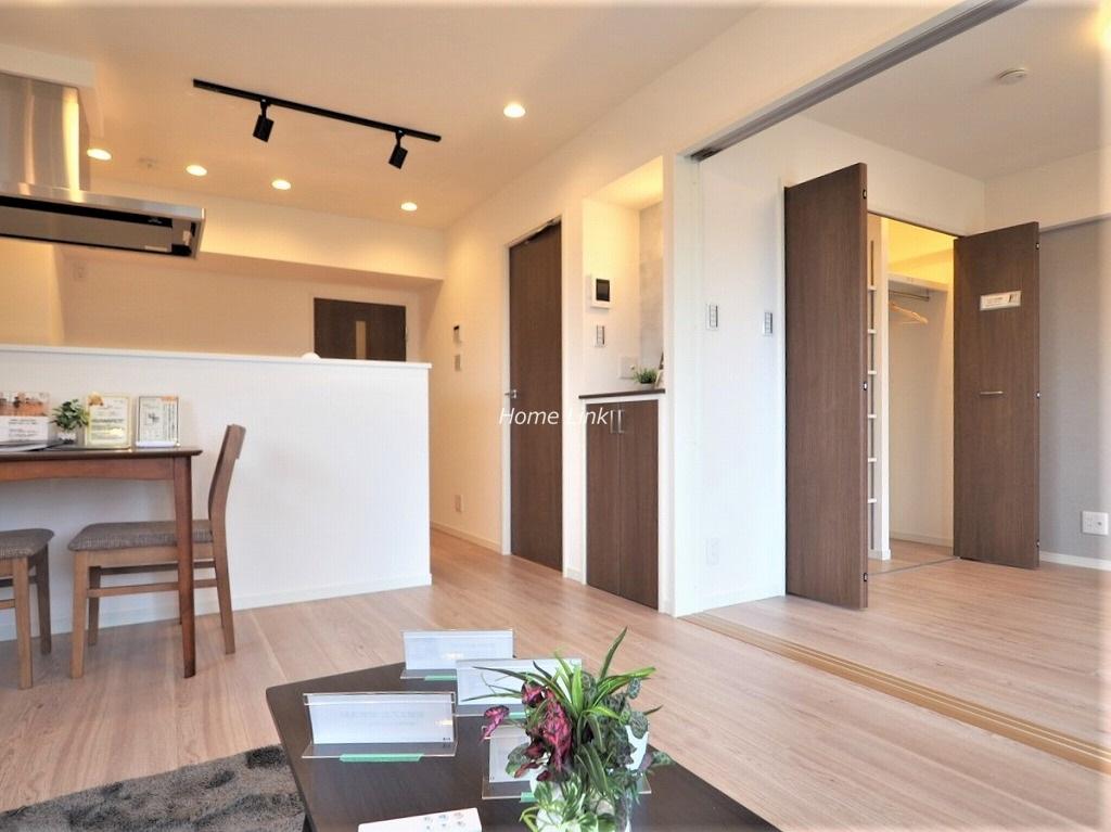 桜川グレースマンション5階 LDKと洋室