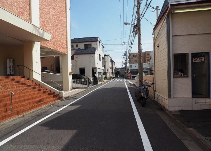 桜川グレースマンション 前面道路