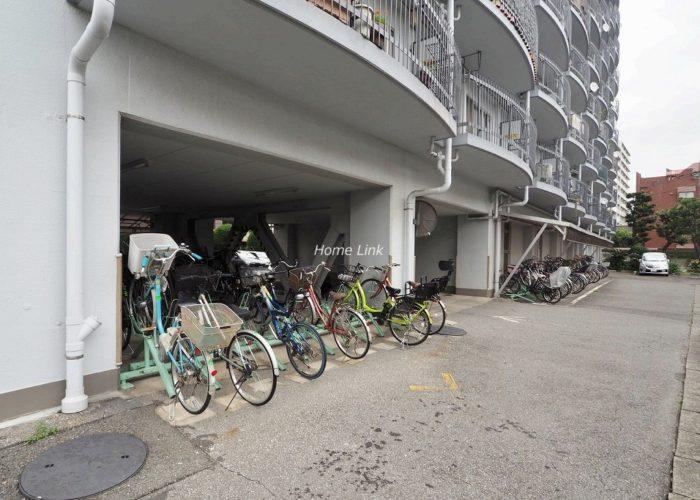 ハイラーク高島平 駐輪場