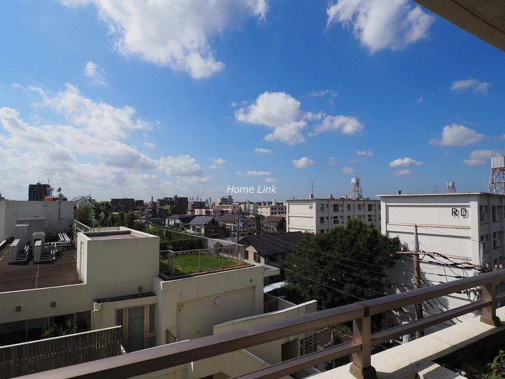 常盤台グリーンハイツ5階 開けた気持ちの良い眺望が広がります