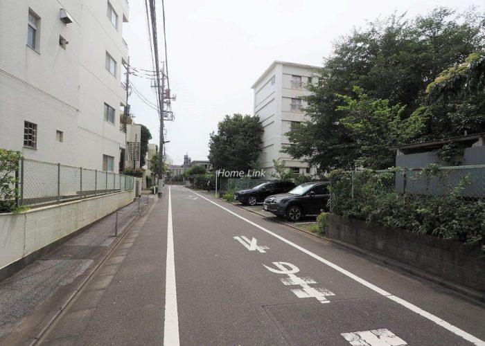 常盤台グリーンハイツ 前面道路