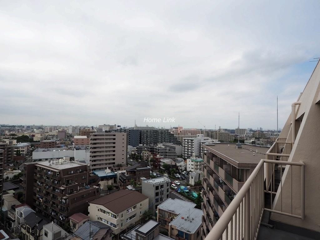 蓮根台ダイヤモンドマンション13階 最上階からの眺望