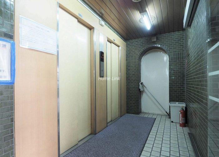 蓮根台ダイヤモンドマンション エレベーターホール