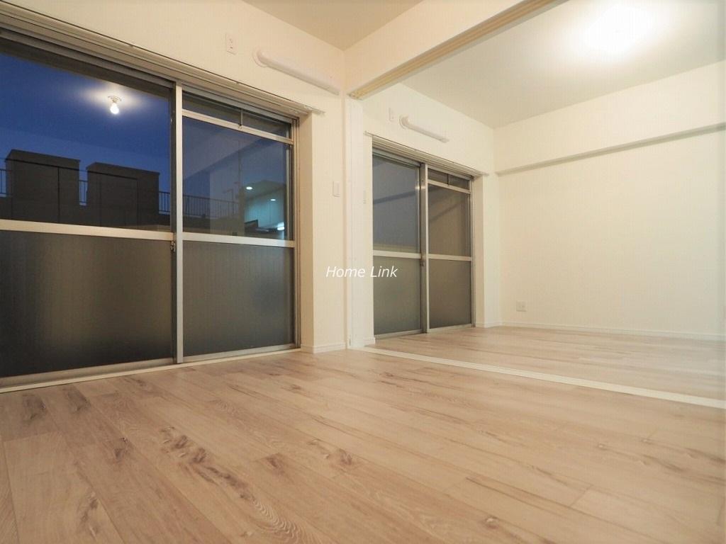 蓮根台ダイヤモンドマンション3階 リビングと洋室を開放