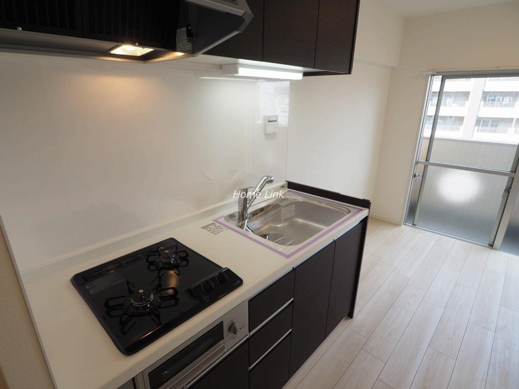 蓮根台ダイヤモンドマンション8階 キッチン等水回り設備は新品