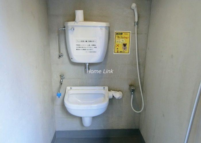 グローリオ板橋本町 ペット用足洗い場