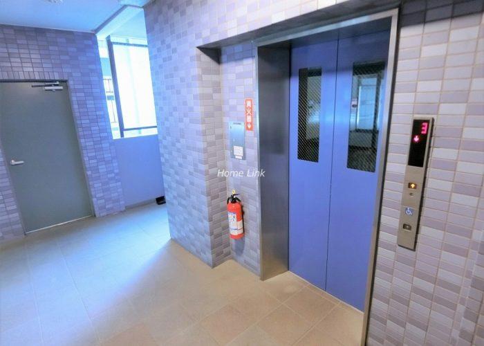 セザール蓮根 エレベーターホール