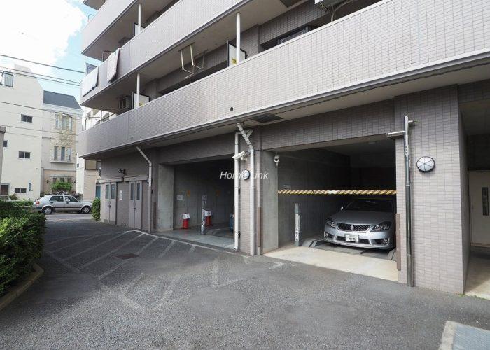 プライムコート大山 駐車場