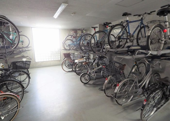 プライムコート大山 駐輪場