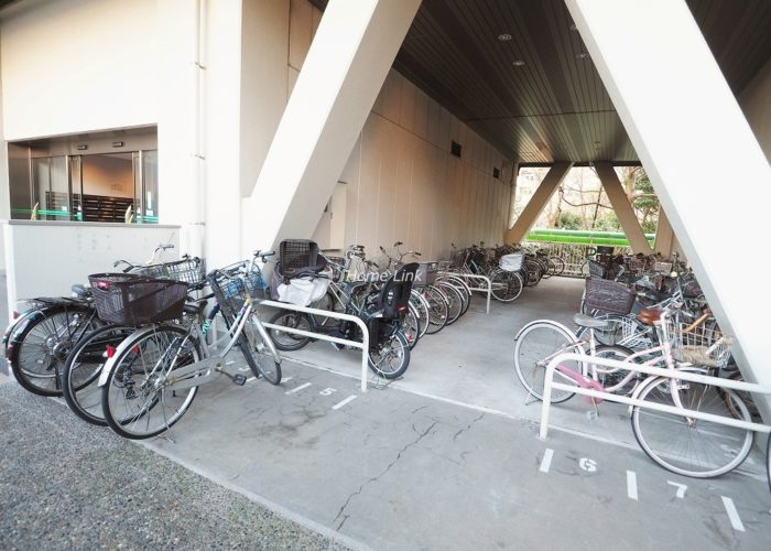 サンシティA棟 駐輪場