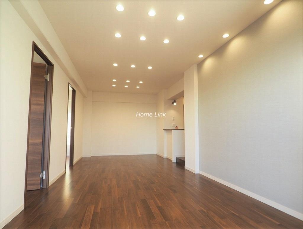 サンシティD棟21階 家具の配置がしやすい縦長LDK