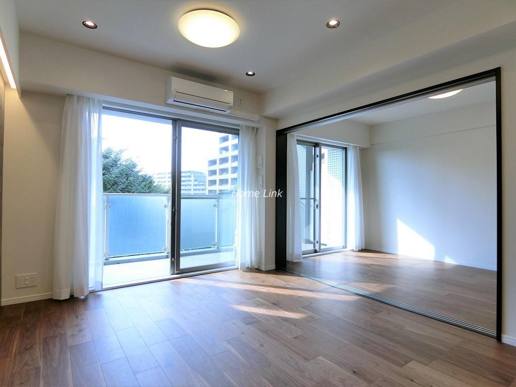ファミール西台5階 公園を眺める5階住戸