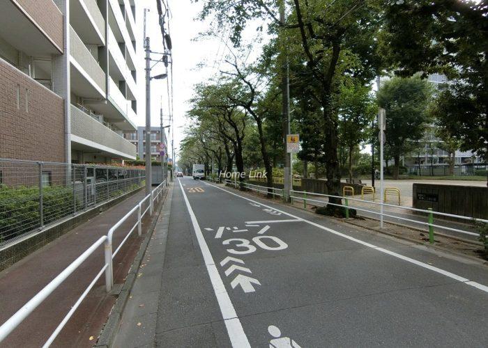 ファミール西台 前面道路