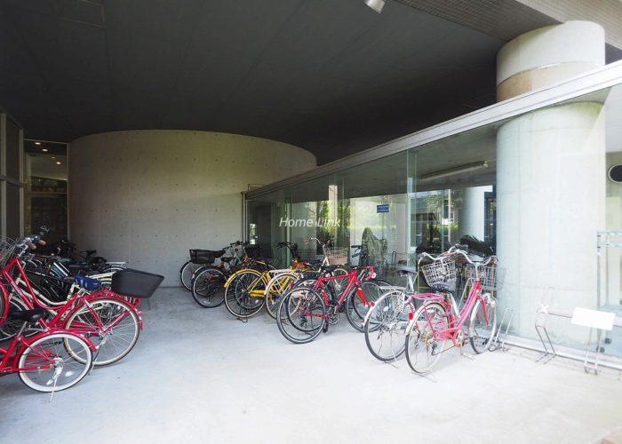 池袋シティハウス 駐輪場