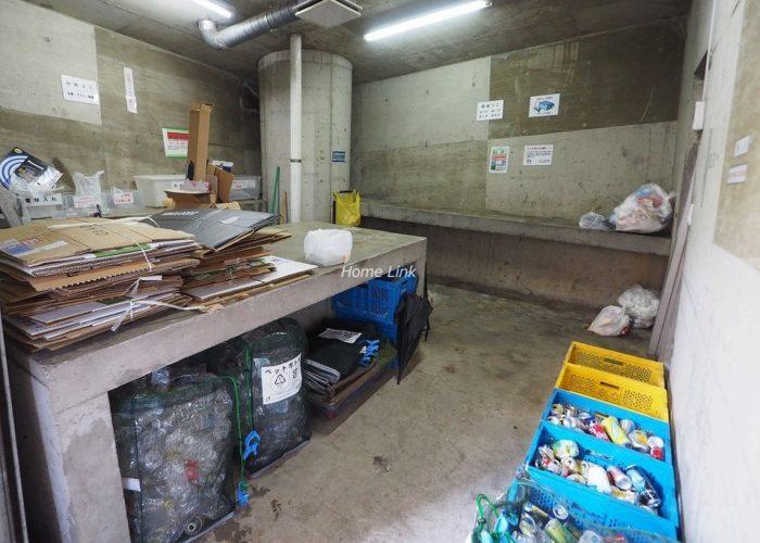 池袋シティハウス ゴミ置き場