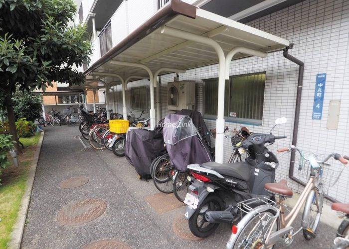グリーンキャピタル池袋 バイク置き場