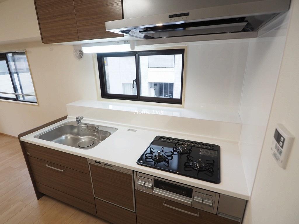 グリーンキャピタル池袋6階 開放感のあるキッチン