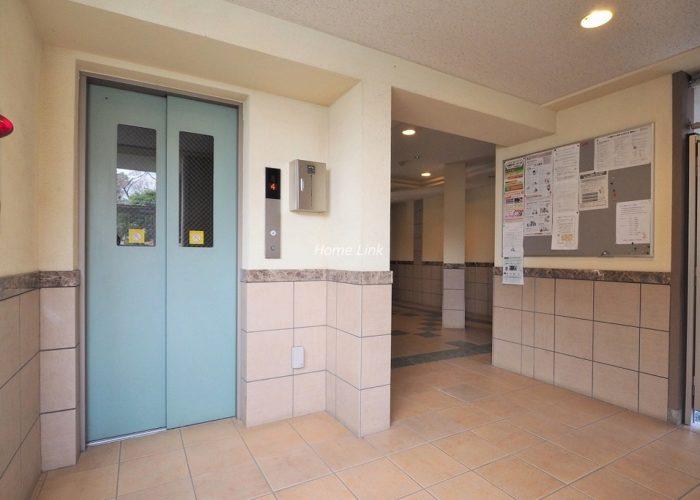 サンクレイドル徳丸ウインフォート エレベーターホール