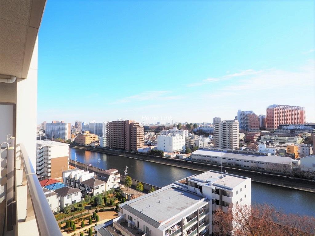 ザ・クレストリヴァシス13階 高層階の13階で眺望良好