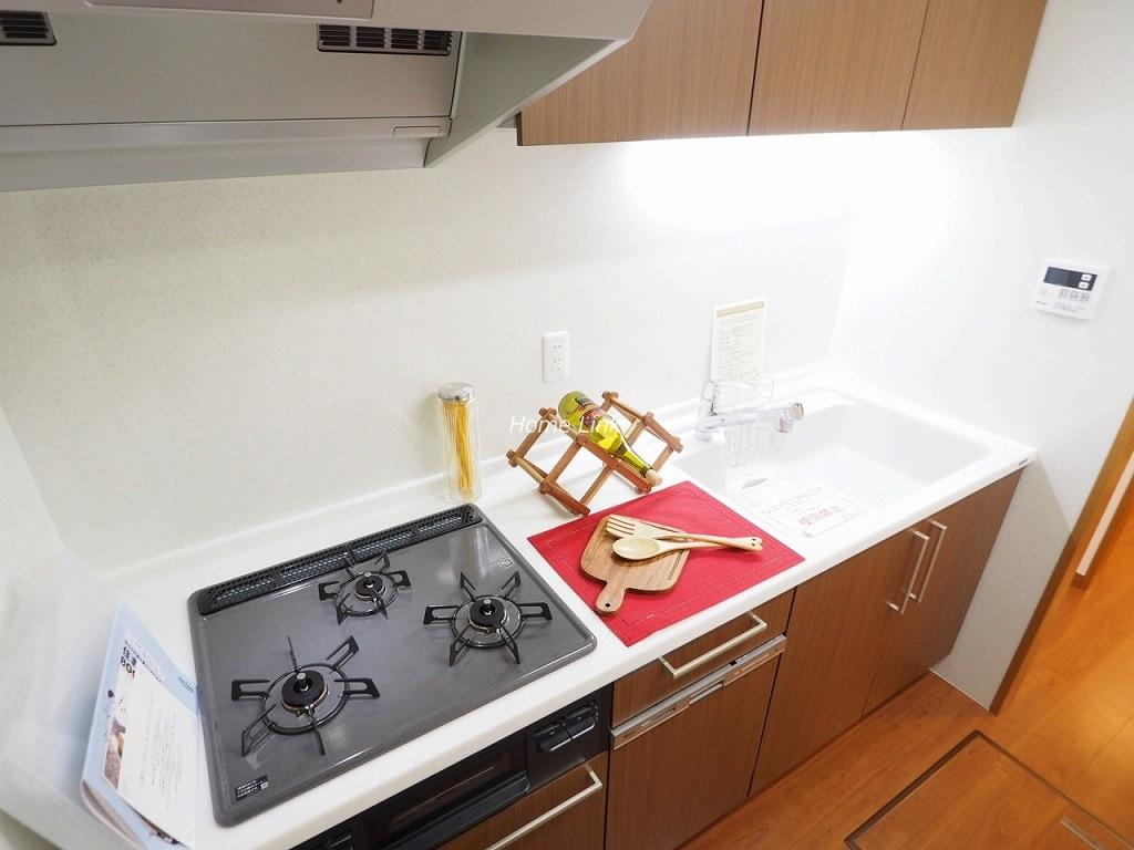 チサンマンション成増1階 システムキッチンは 食器洗浄機付き
