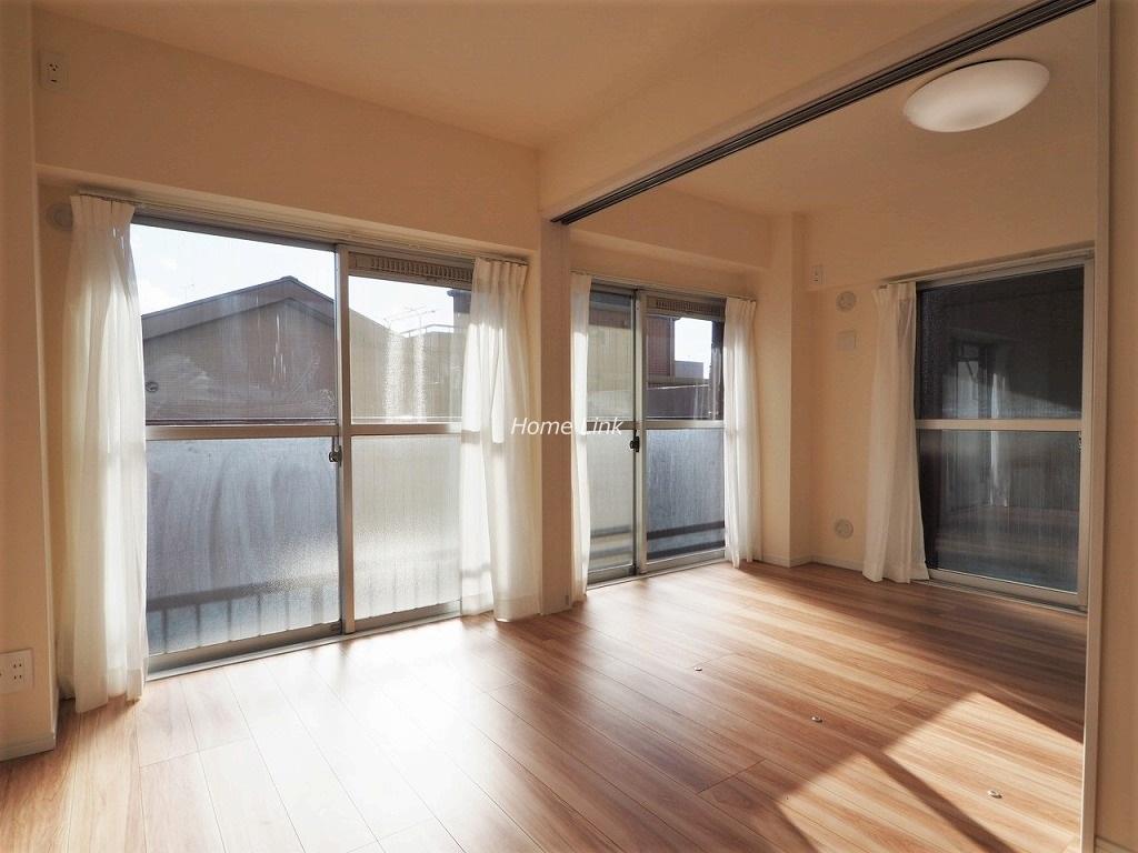 ライオンズマンション中板橋2階 リビングと洋室を開放
