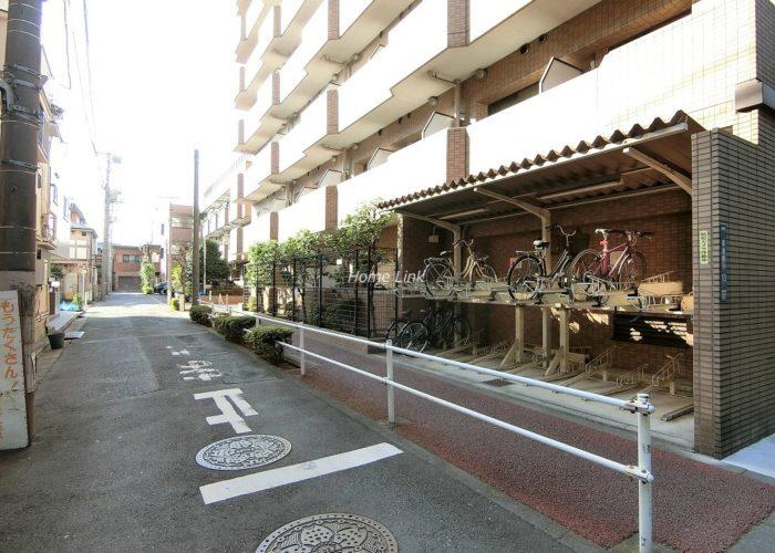 朝日シティパリオ板橋本町 駐輪場