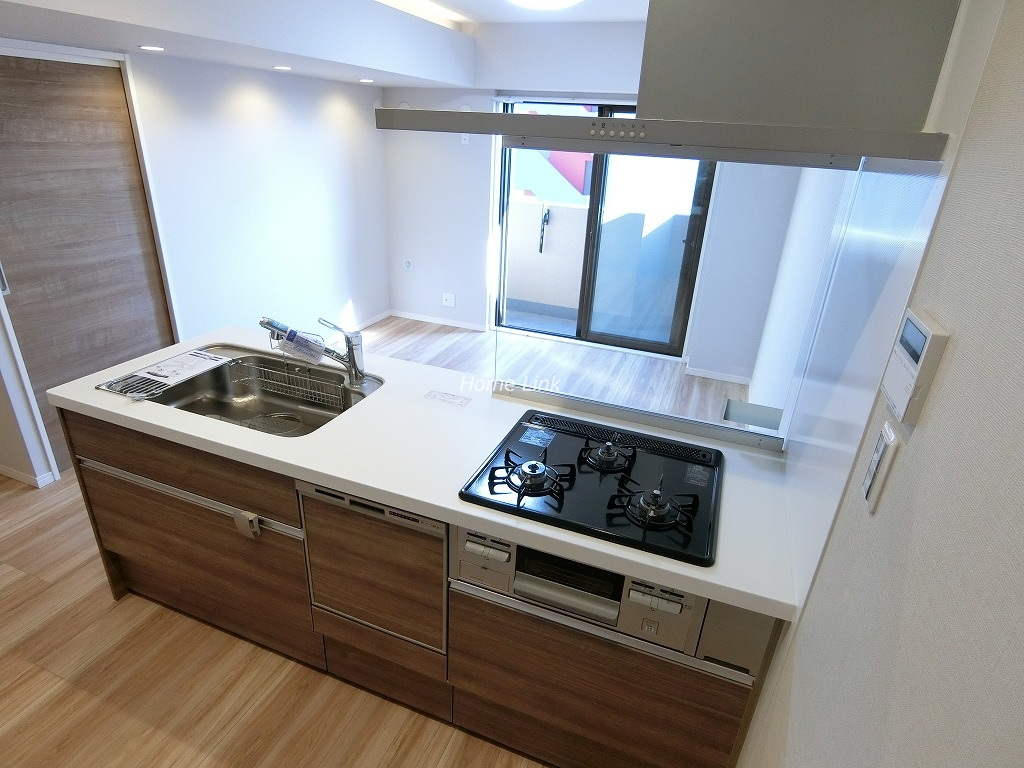朝日シティパリオ板橋本町9階 開放感のあるキッチン