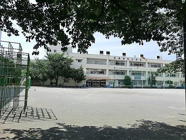 グリーンキャピタル池袋周辺環境 板橋第五小学校
