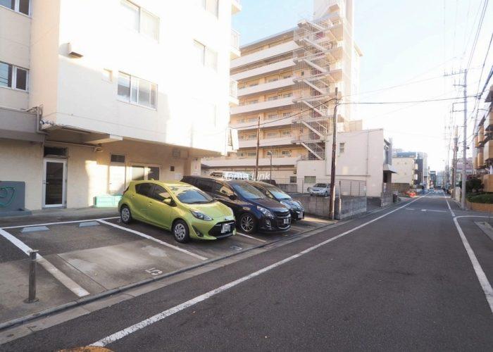 高島平サンパワー 駐車場