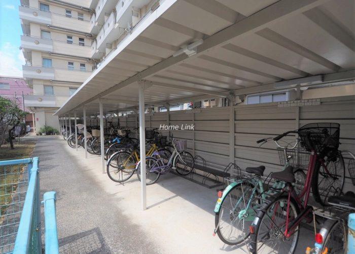 高島平サンパワー 駐輪場