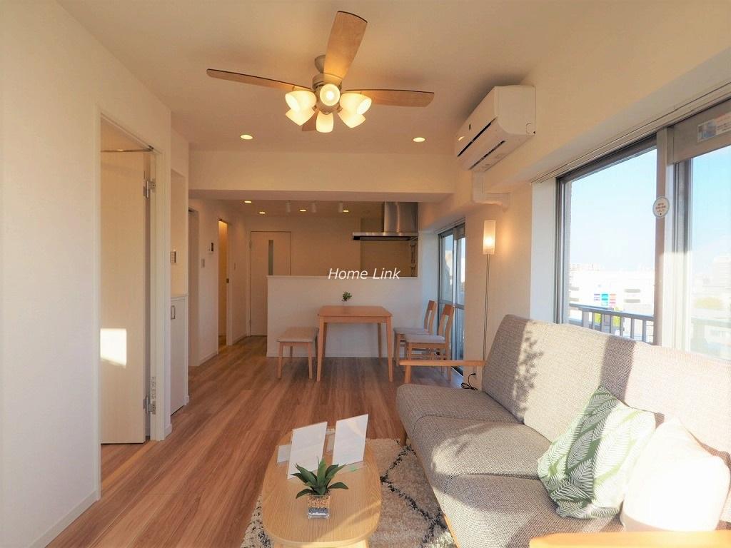 高島平サンパワー8階 8階の最上階 南東角住戸