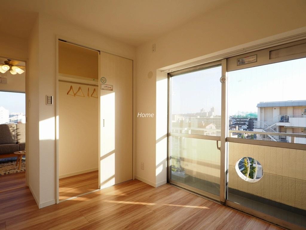 高島平サンパワー8階 洋室4.5帖ウォークインクローゼット