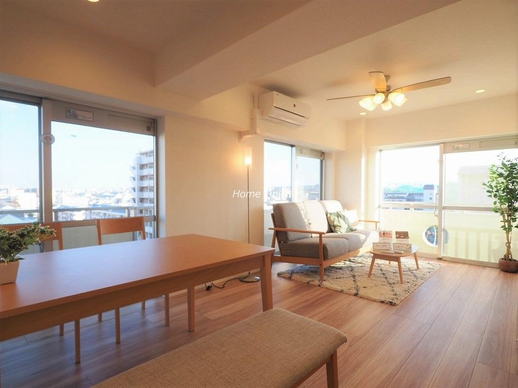 高島平サンパワー8階  リノベーション済み・家具付き物件