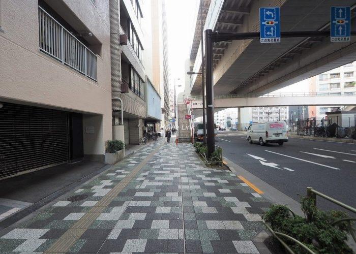 キャニオンマンション板橋 前面道路歩道