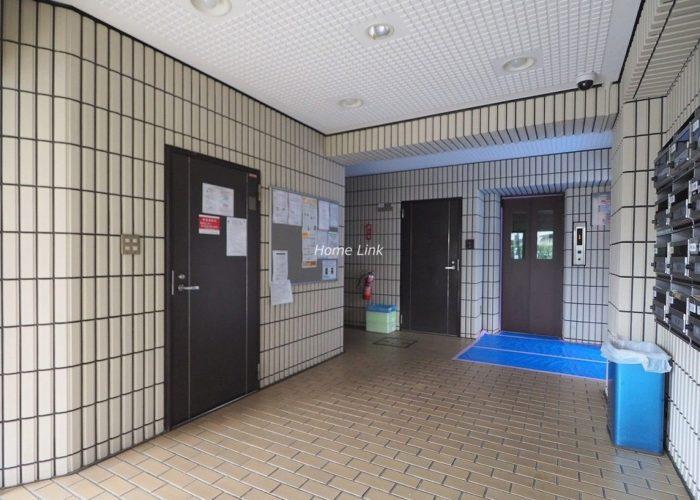 キャニオンマンション蓮根城北公園 エレベーターホール