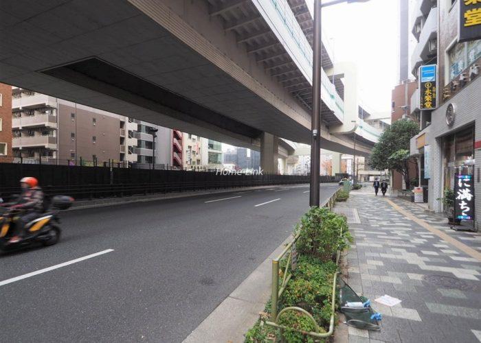 ジャルダン板橋 前面道路歩道