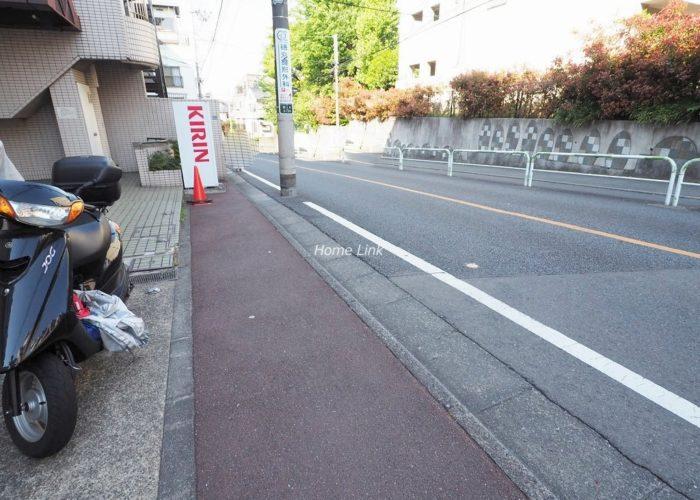 プレール東武練馬 前面道路