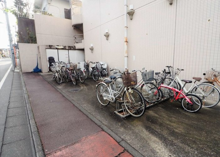 プレール東武練馬 駐輪場