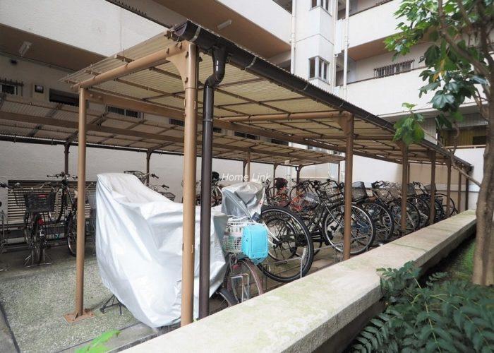板橋区役所前リリエンハイム 駐輪場