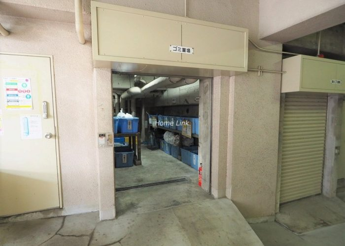 板橋区役所前リリエンハイム ゴミ置き場