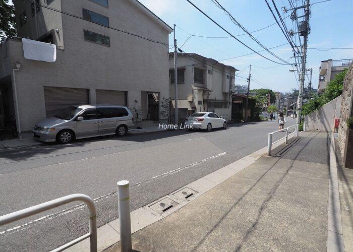 コスモ成増シティフォルム 前面道路歩道