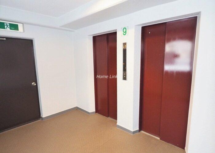 ダイアパレス新板橋 エレベーターホール