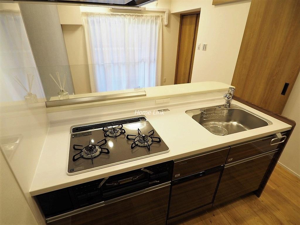 ダイアパレス板橋本町3階 キッチンには食洗機・カップボード付き