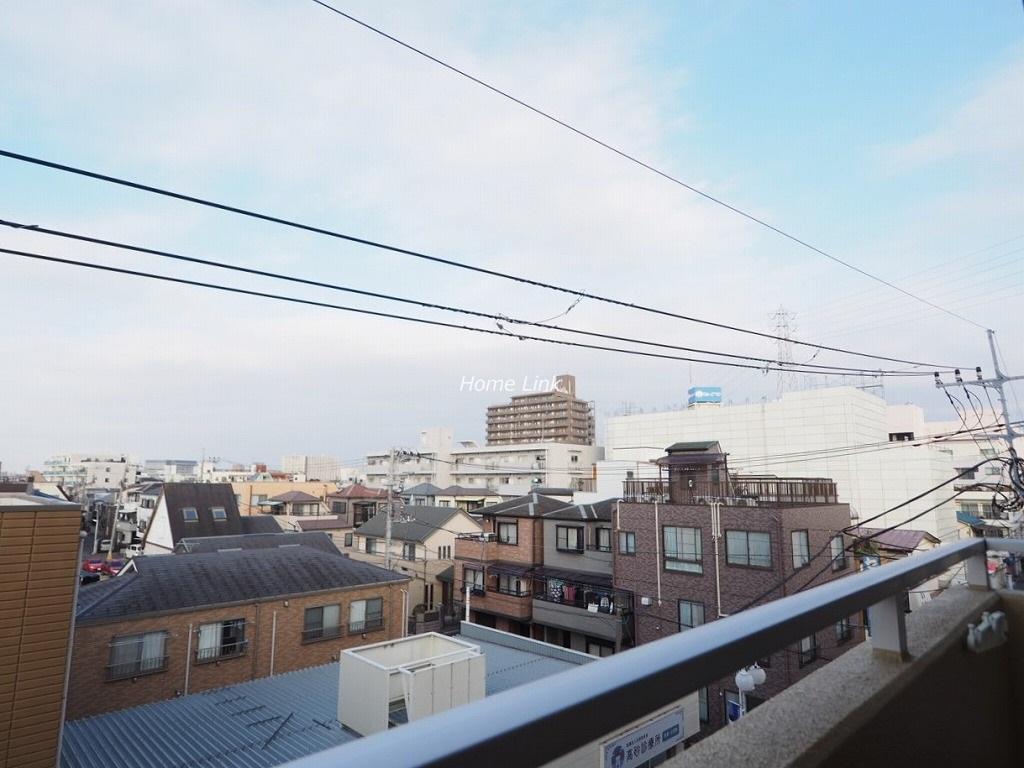 ライオンズマンション高砂4階 遮る建物がなく開けた眺望