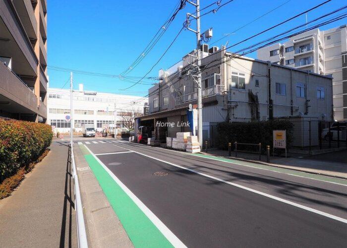 レクシオ志村坂上 前面道路