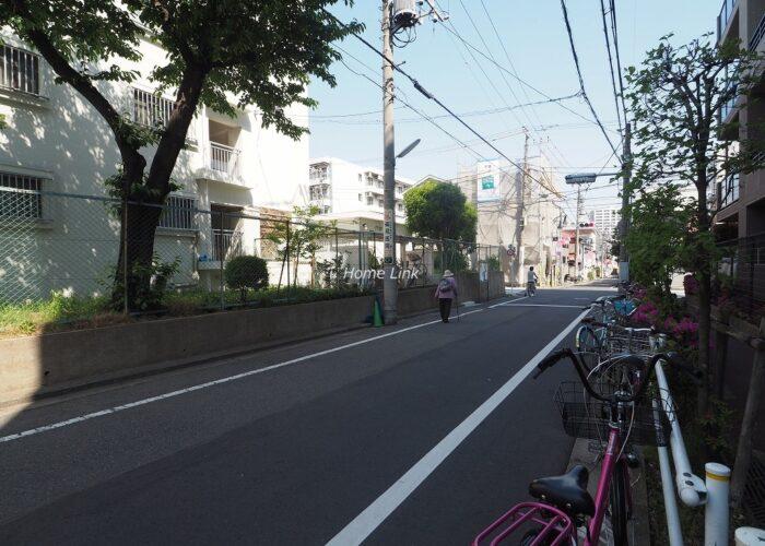 レクセルマンション要町 前面道路
