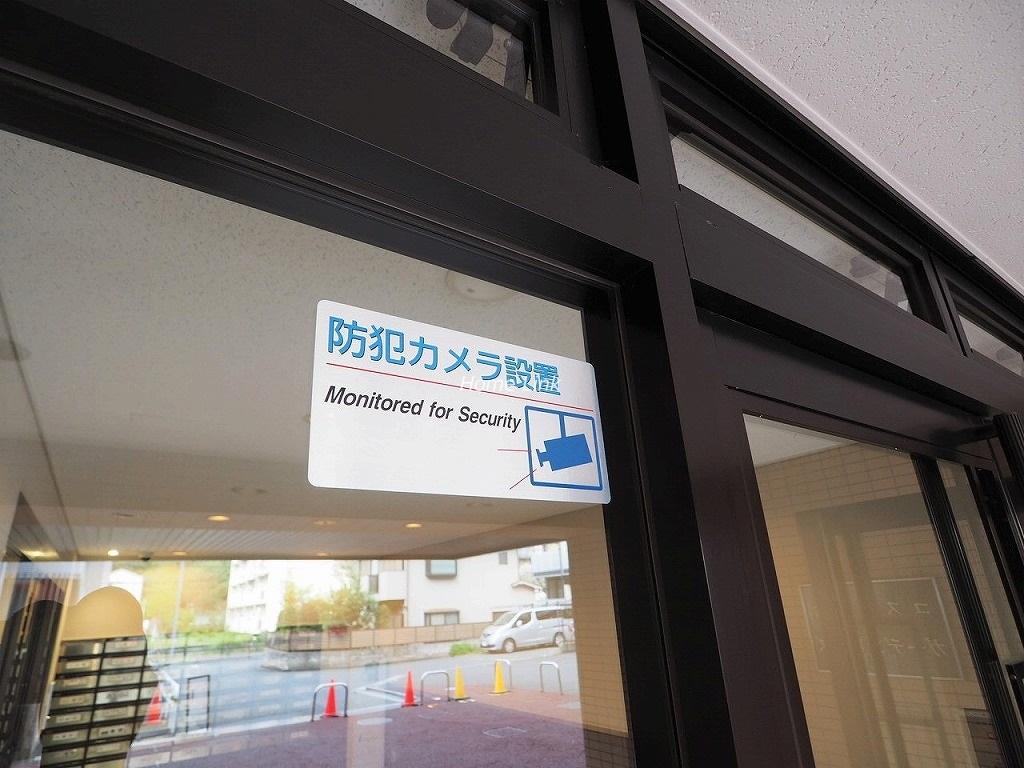 コスモ中台ガーデンヒルズ セキュリティ