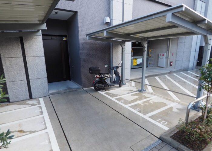 リビオレゾン板橋本町ステーションサイド バイク置き場
