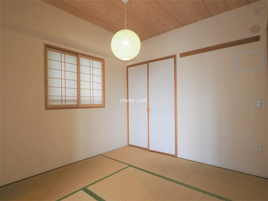 レクセルガーデン成増6階 和室にも窓があり落ち着く空間