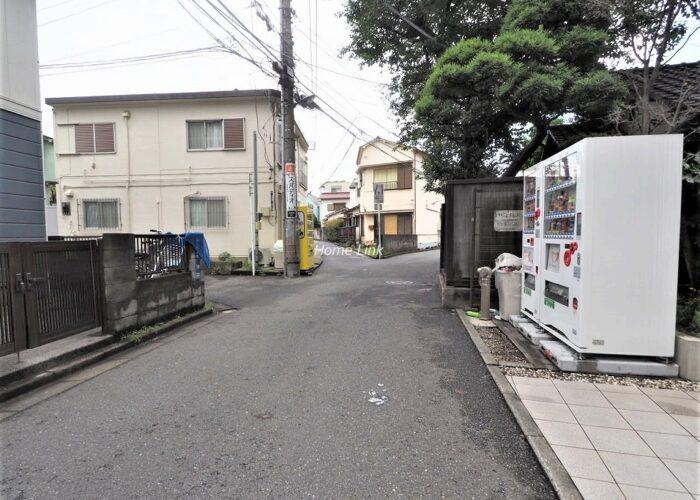レ・ベント板橋本町 前面道路